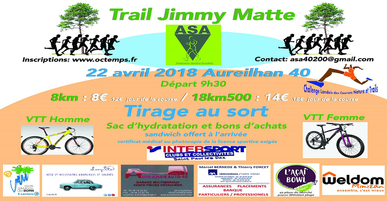 Trail de Jimmy Matte